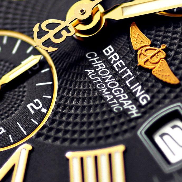 Foto 3 - Breitling Crosswind Stahlgold Auto Chronograf Pilotband, U2177