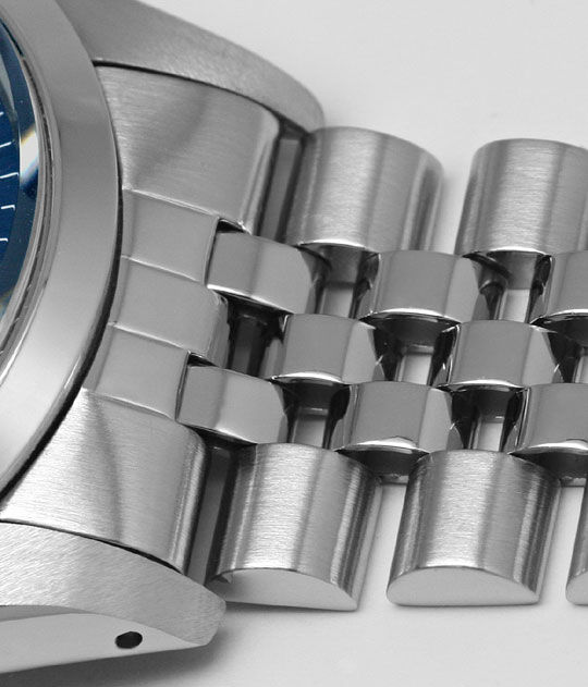 Foto 4 - Rolex Date Oyster Perpetual Edelstahl Herren Armbanduhr, U2183