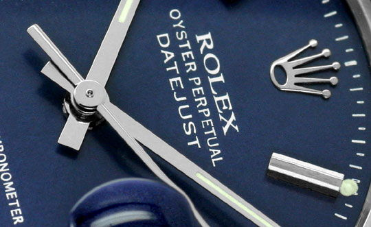 Foto 3, Rolex Datejust Weissgold-Luenette Edelstahl, Herren-Uhr, U2186