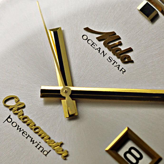 Foto 3 - Mido Oceanstar Powerwind Chronometer Herrenuhr 14K Gold, U2187