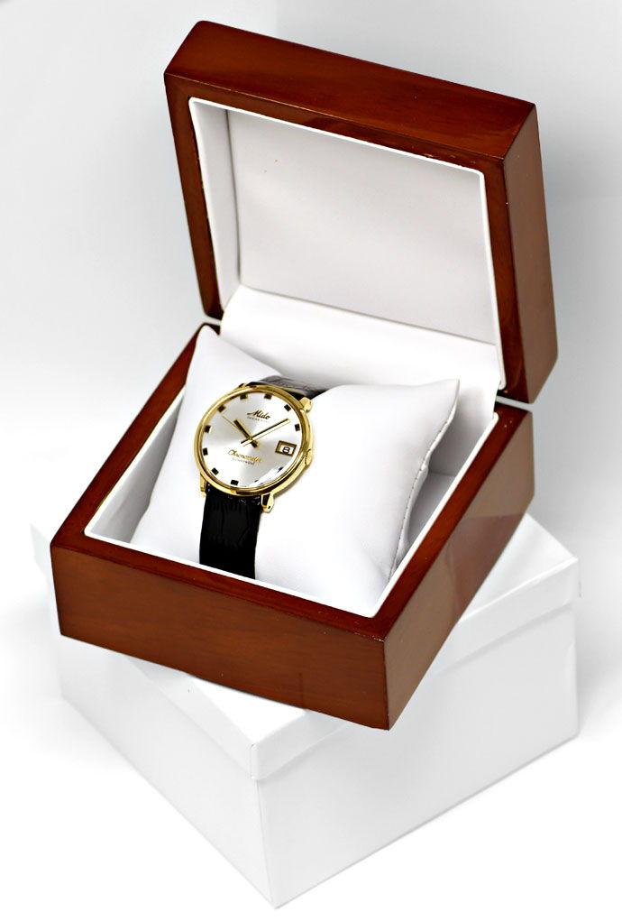 Foto 5 - Mido Oceanstar Powerwind Chronometer Herrenuhr 14K Gold, U2187