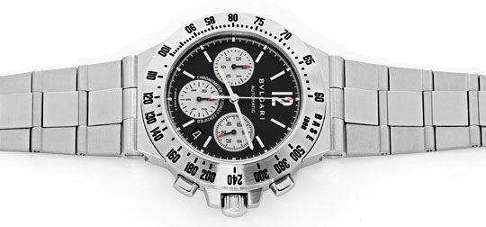 Foto 1, Bulgari Diagono Professional Terra Chrono Automatik Uhr, U2194