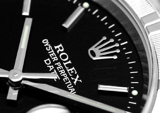 Foto 3, Rolex Date Herren-Armbanduhr Oyster Perpetual Edelstahl, U2196