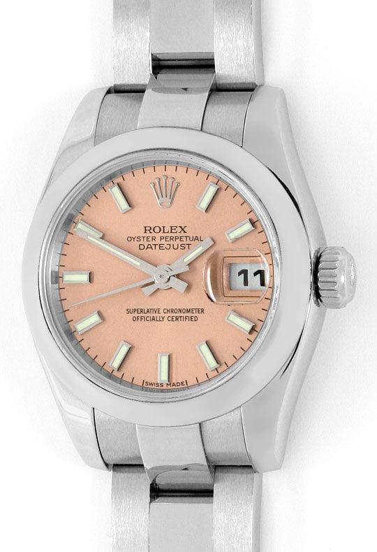 Foto 2 - Ungetragene Rolex Damen Datejust Oyster Perpetual, Rose, U2198
