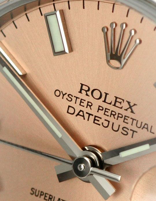 Foto 3, Ungetragene Rolex Damen Datejust Oyster Perpetual, Rose, U2198