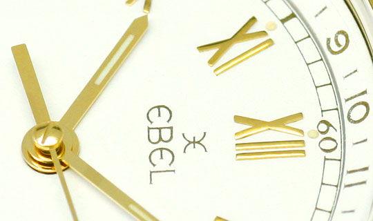 Foto 3 - Ebel Voyager Automatik Tag Nacht Weltzeit Uhr Gelb Gold, U2201
