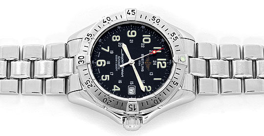 Foto 1, Breitling Superocean Automatik Taucher-Uhr Professional, U2203