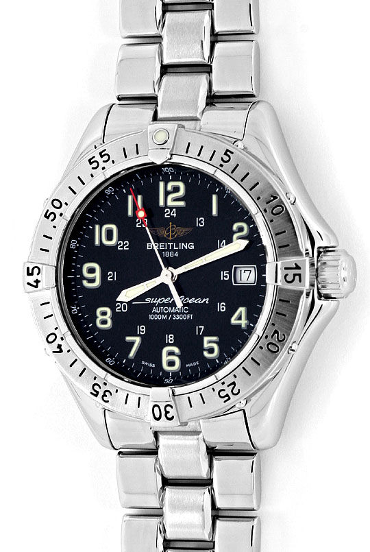 Foto 2, Breitling Superocean Automatik Taucher-Uhr Professional, U2203