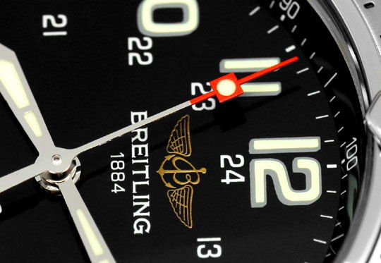 Foto 3, Breitling Superocean Automatik Taucher-Uhr Professional, U2203