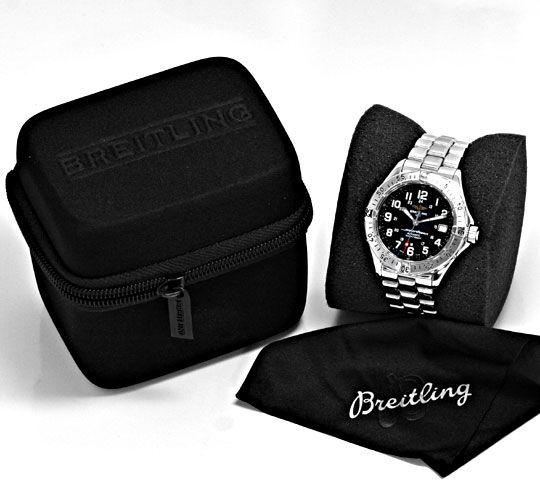 Foto 6, Breitling Superocean Automatik Taucher-Uhr Professional, U2203
