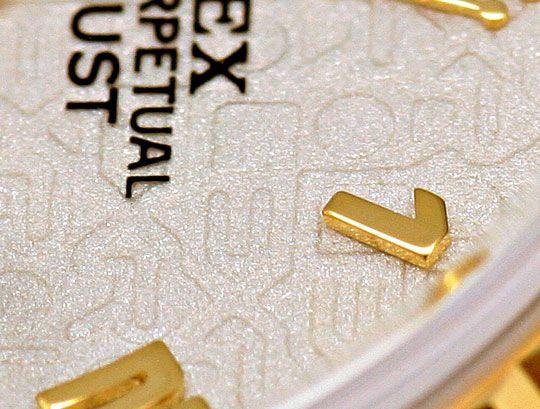 Foto 4, Ungetragene Rolex Datejust Damenuhr Stahlgold Automatik, U2204