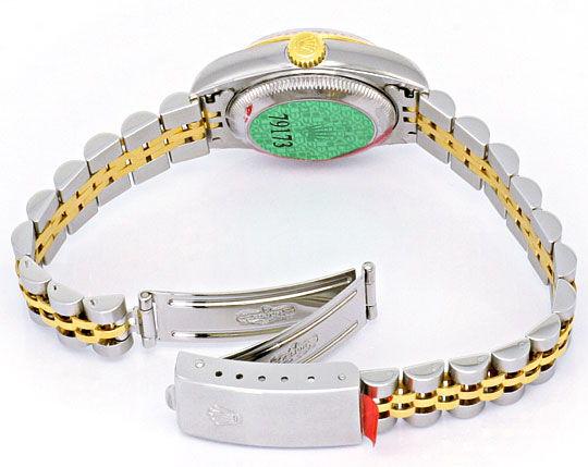 Foto 6, Ungetragene Rolex Datejust Damenuhr Stahlgold Automatik, U2204