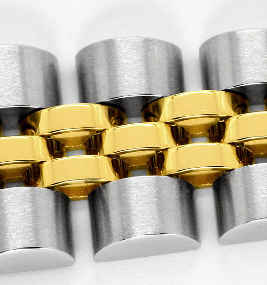 Foto 4 - Rolex Lady Date Stahl Gold, Automatik, Damen Armbanduhr, U2206