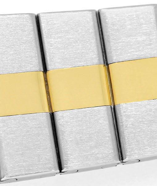 Foto 4 - Chopard St.Moritz Stahl Gold Damenuhr mit Diamantbesatz, U2208