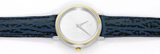 Foto 1, Herren-Armbanduhr Extrem massiv Platin Gold, Neuzustand, U2217