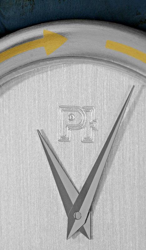 Foto 3, Herren-Armbanduhr Extrem massiv Platin Gold, Neuzustand, U2217