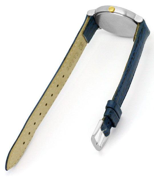 Foto 4, Herren-Armbanduhr Extrem massiv Platin Gold, Neuzustand, U2217