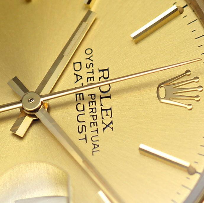 Foto 3 - Rolex Herren Datejust 18K GG Jubilee Schliesse Verdeckt, U2221