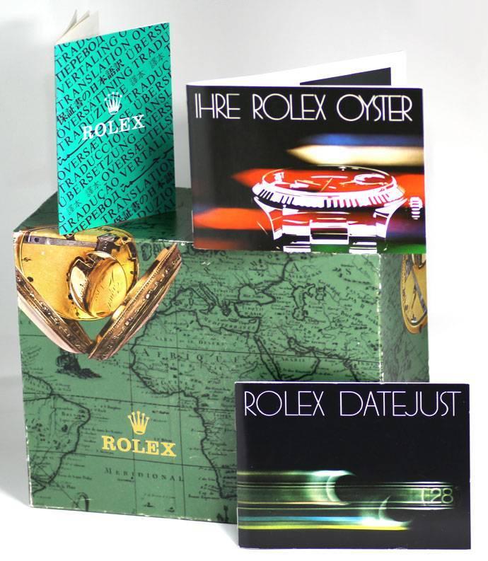 Foto 8 - Rolex Herren Datejust 18K GG Jubilee Schliesse Verdeckt, U2221