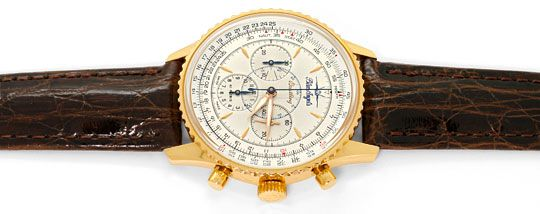 Foto 1, Breitling Navitimer Limited Blue Angels Rose-Gold Kroko, U2223