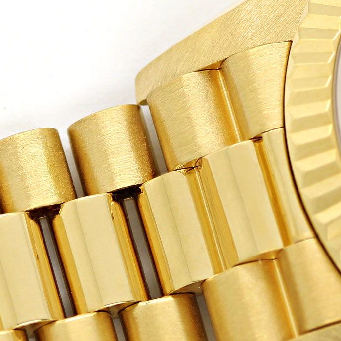 Foto 5 - Rolex Datejust Gelbgold Damen Uhr Diamanten Zifferblatt, U2224