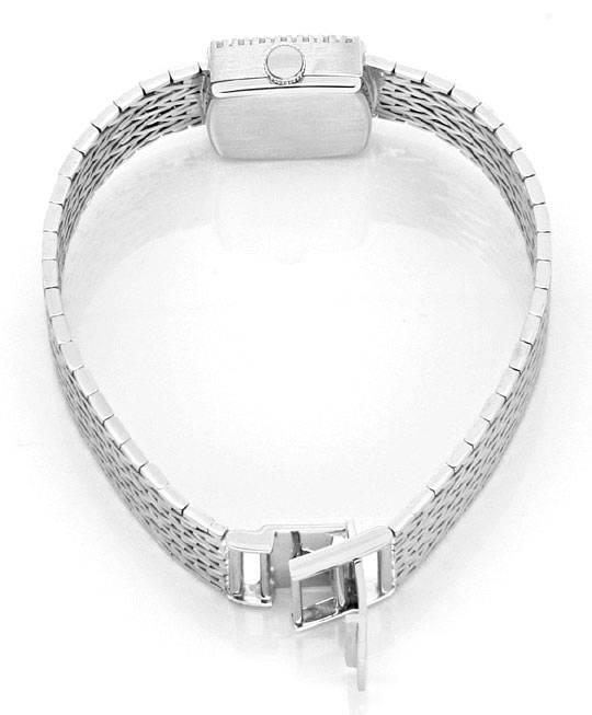 Foto 5, Damenarmbanduhr Anker 0,27 Diamanten 14 Karat Weissgold, U2227