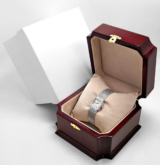 Foto 6, Damenarmbanduhr Anker 0,27 Diamanten 14 Karat Weissgold, U2227