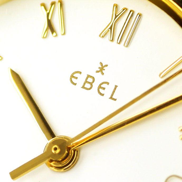 Foto 3 - Ebel Classic Wave Damen Armbanduhr mit Datum Stahl Gold, U2230