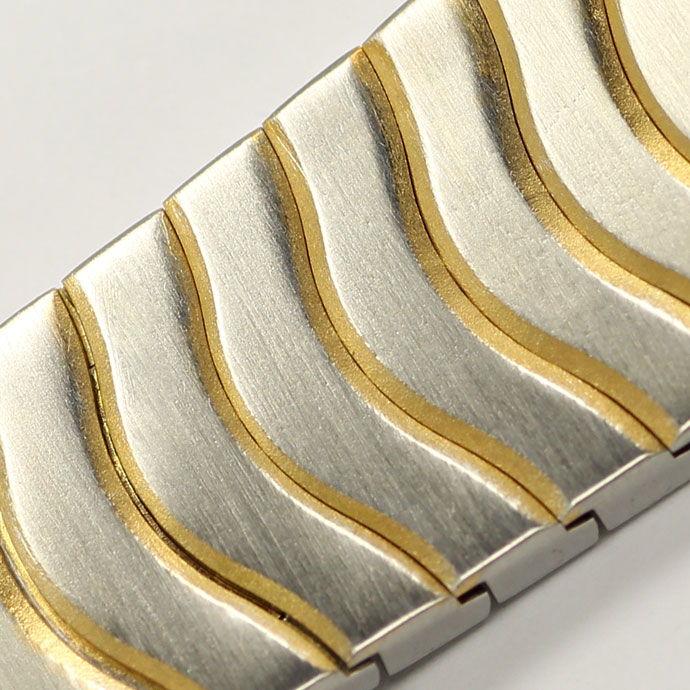Foto 4 - Ebel Classic Wave Damen Armbanduhr mit Datum Stahl Gold, U2230