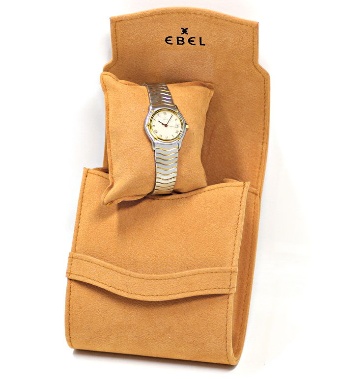 Foto 6 - Ebel Classic Wave Damen Armbanduhr mit Datum Stahl Gold, U2230