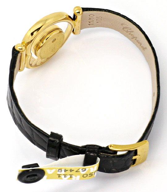 Foto 8 - Chopard Happy Diamonds Herz Damen Armbanduhr, Gelb Gold, U2231