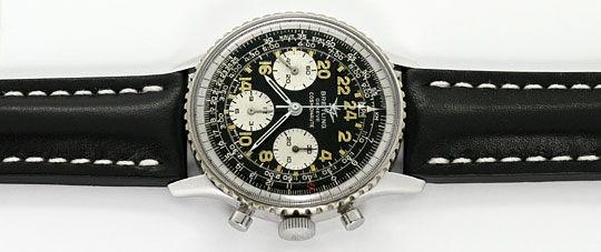 Foto 1, Breitling Navitimer Cosmonaute 809-36 Stahl Sammler-Uhr, U2235