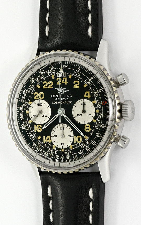 Foto 2 - Breitling Navitimer Cosmonaute 809 36 Stahl Sammler Uhr, U2235