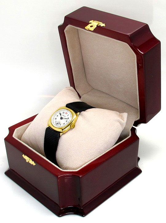 Foto 6 - antike Rolex in Gelb Gold Vintage Armbanduhr Non Oyster, U2236