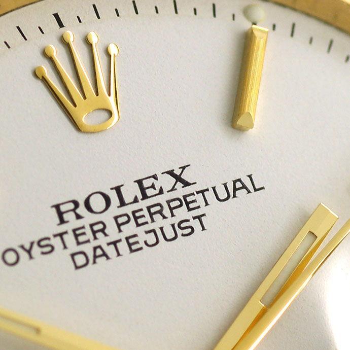 Foto 3 - Rolex Datejust Herrenuhr 18K Gelbgold Original aus 1966, U2243