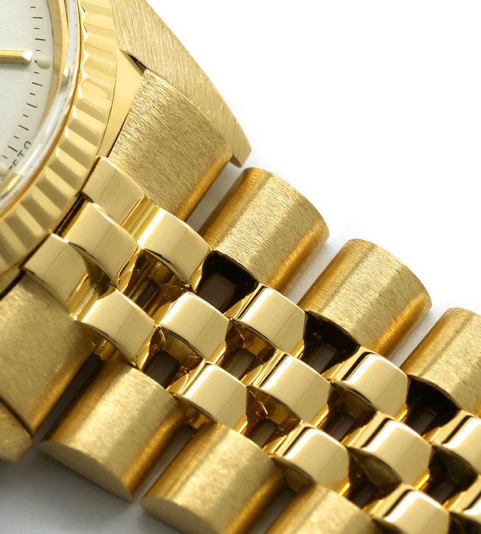 Foto 4 - Rolex Datejust Herrenuhr 18K Gelbgold Original aus 1966, U2243