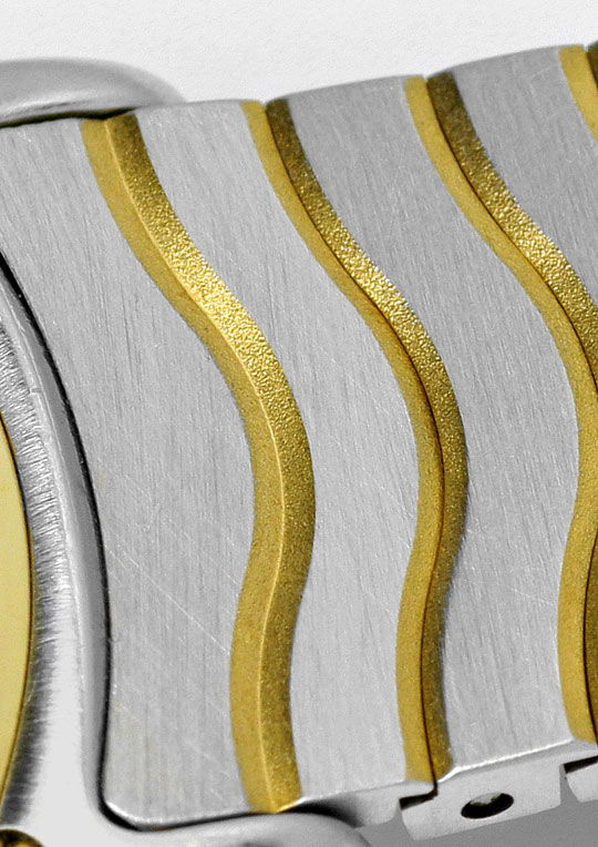 Foto 3, Ebel Sport Classic Diamant-Zifferblatt Stahl-Gold Damen, U2244