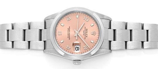 Foto 1, Rolex Date Oyster Perpetual Edelstahl Herren-Armbanduhr, U2245