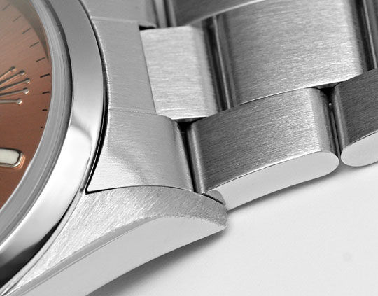 Foto 4 - Rolex Date Oyster Perpetual Edelstahl Herren Armbanduhr, U2245
