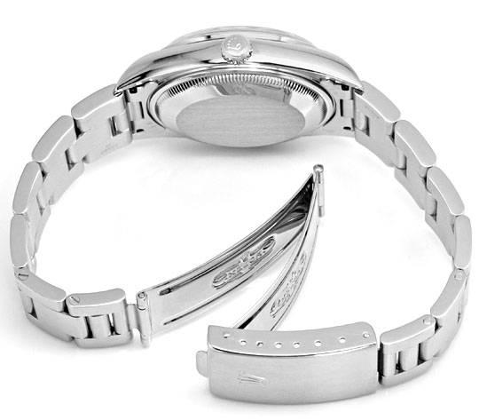 Foto 5, Rolex Date Oyster Perpetual Edelstahl Herren-Armbanduhr, U2245