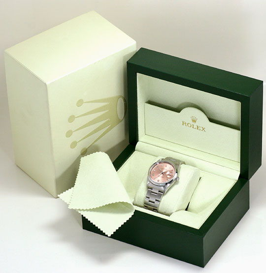 Foto 6 - Rolex Date Oyster Perpetual Edelstahl Herren Armbanduhr, U2245