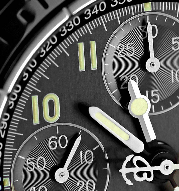 Foto 3 - Breitling Chronomat Longitude GMT Herrenuhr Leder Stahl, U2250