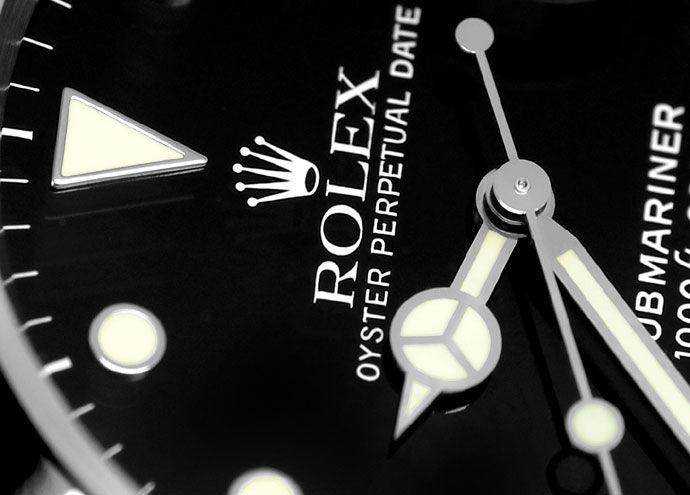 Foto 3 - Rolex Submariner Date Schwarz Stahl Spitzen Top Zustand, U2259