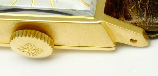 Foto 3, Patek Philippe 3280 Vintage Damen-Armbanduhr, Gelb-Gold, U2267