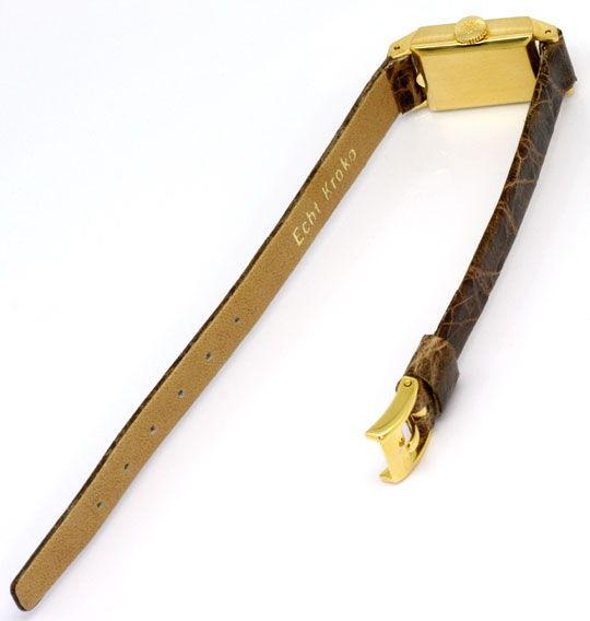 Foto 5, Patek Philippe 3280 Vintage Damen-Armbanduhr, Gelb-Gold, U2267