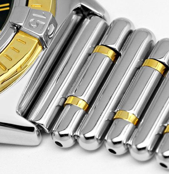 Foto 4, Breitling Callistino Rouleaux-Band Stahl-Gold Damen-Uhr, U2272