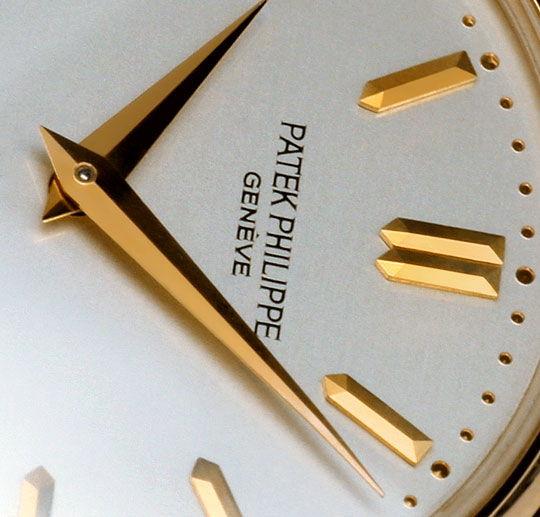 Foto 3 - Patek Philippe Calatrava 3923 Rosegold 18K Kroko Herren, U2277