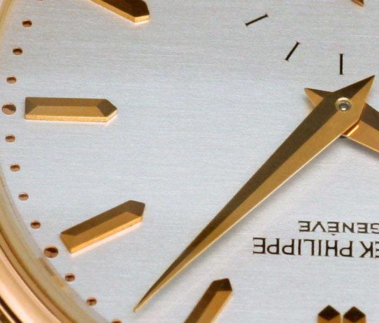 Foto 4 - Patek Philippe Calatrava 3923 Rosegold 18K Kroko Herren, U2277