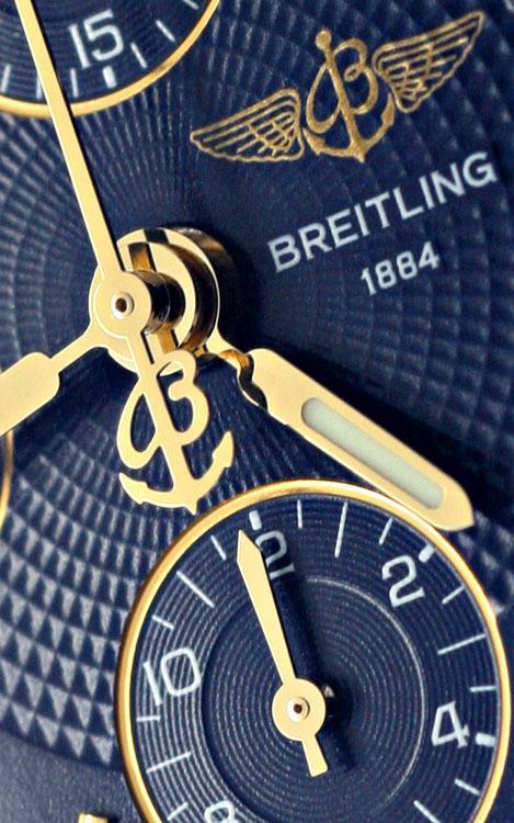 Foto 3, Breitling Chrono Sextant, Windrider Chronomat Stahlgold, U2279