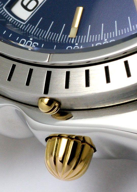 Foto 4 - Breitling Chrono Sextant, Windrider Chronomat Stahlgold, U2279